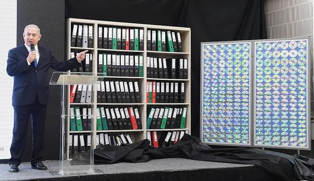 Agentes do Mossad  levaram documentos nucleares do Irã para Israel
