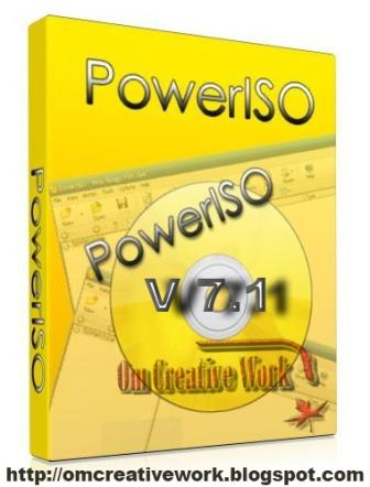 Power ISO 7.1 Free Download  Full Version 2018