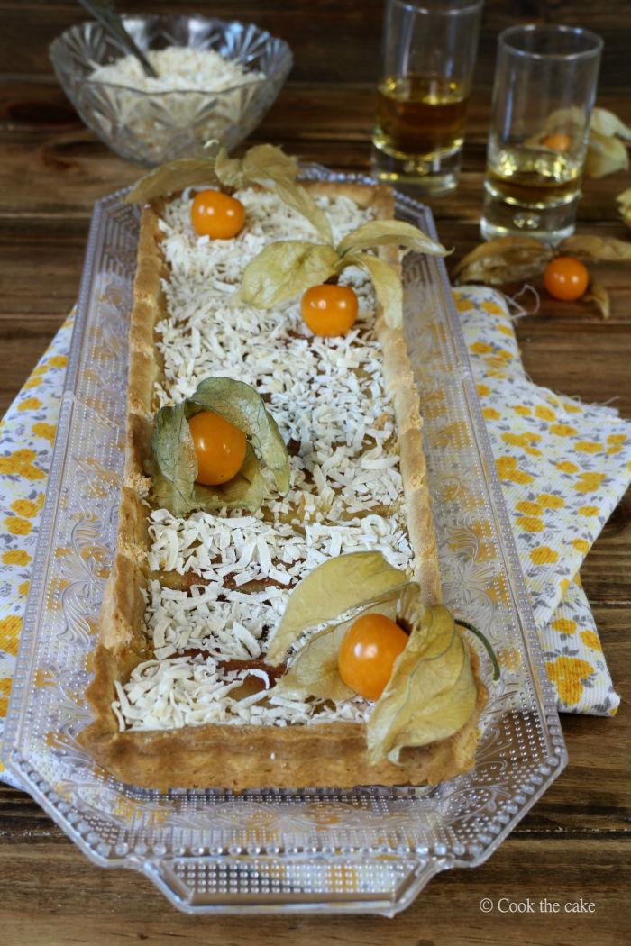 tarta-de-coco-y-ron, coconut-rum-tart