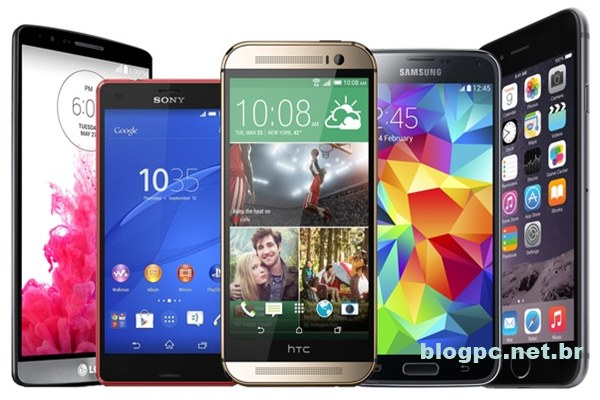 As 5 marcas de smartphone mais vendidas de 2016