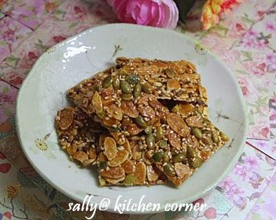 kitchen linens free remodel 厨房角落: 麦芽杏仁脆饼
