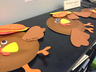 Turkey rhythms: Great way to practice rhythms during the Thanksgiving season in the music room!