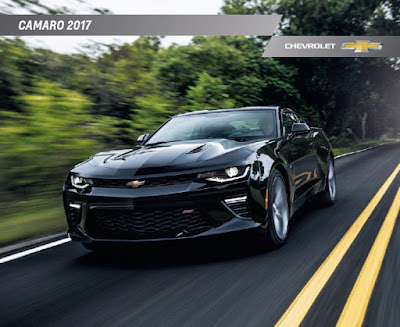 Downloadable 2017 Chevrolet Camaro Brochure