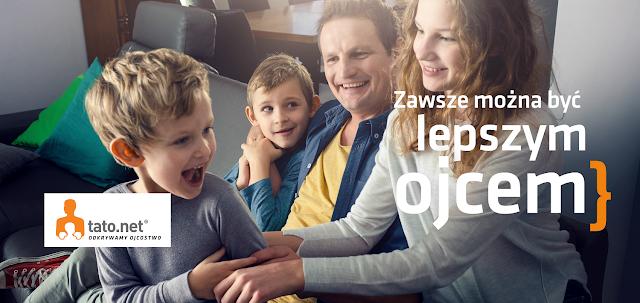 Jak być dobrym tatą? - Świadome i odpowiedzialne ojcostwo. - kampania społeczna Tato.Net