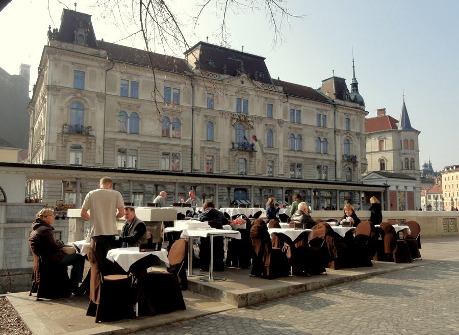 Ljubljana cafes
