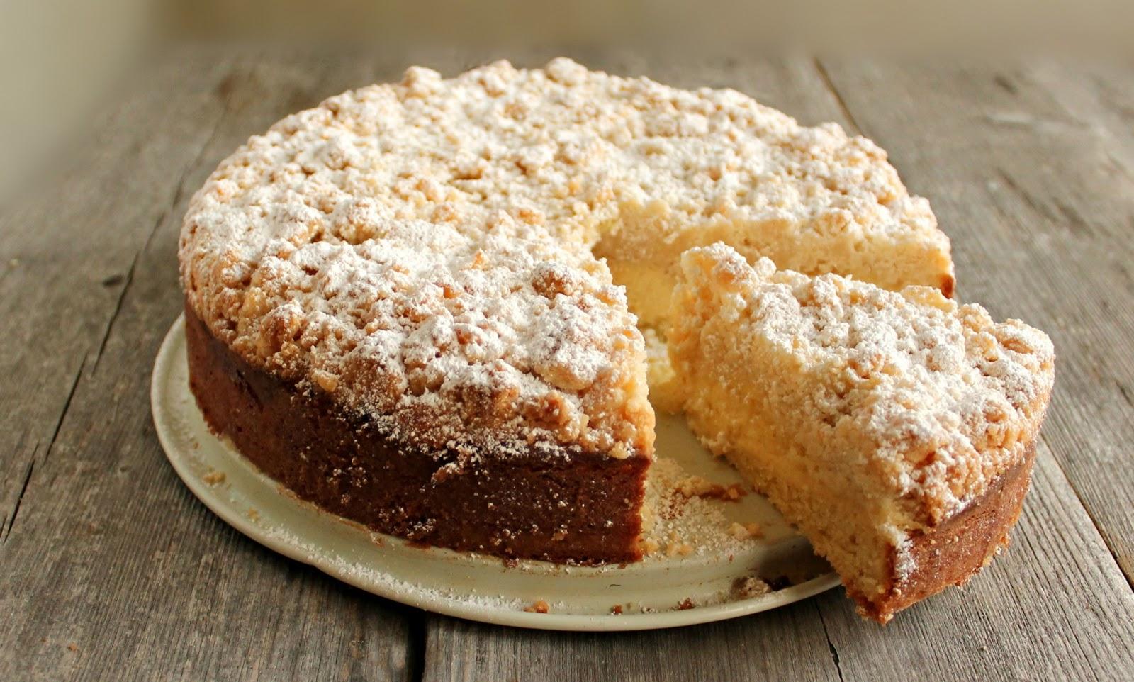 Cream Cheese Crumb Coffee Cake Recipe