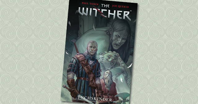 The Witcher Fuchskinder Panini Cover