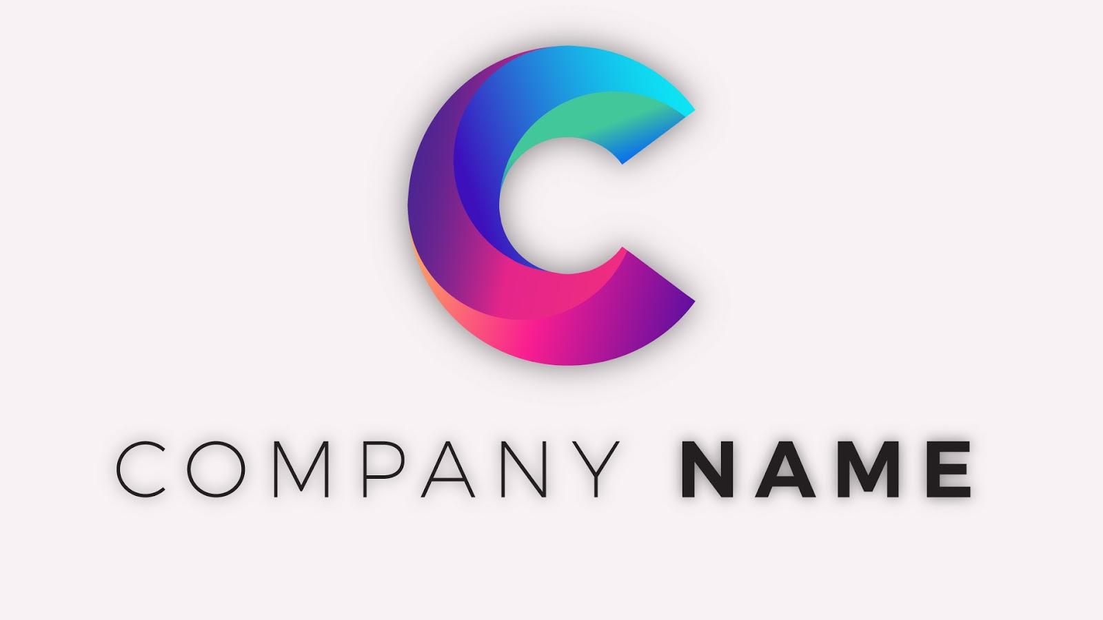 adobe illustrator logo idea for letter c