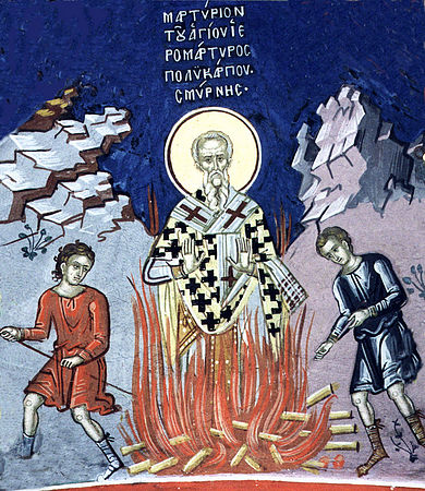 the life of the martyr polycarp of smyrna Saint polycarp (pŏl´ĭkärp), cad 70–ad 156, greek bishop of smyrna, father of  the church he was a disciple of st john, who appointed him bishop thus he.