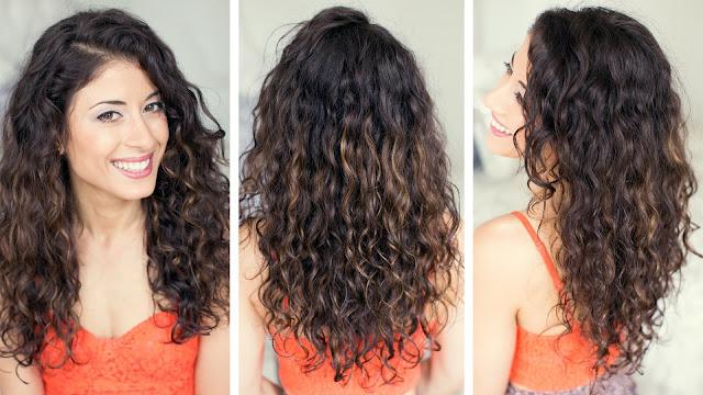 Trik Menata Rambut yang Ikal Atau Bergelombang, cara Menata Rambut yang Ikal Atau Bergelombang, tips Menata Rambut yang Ikal Atau Bergelombang