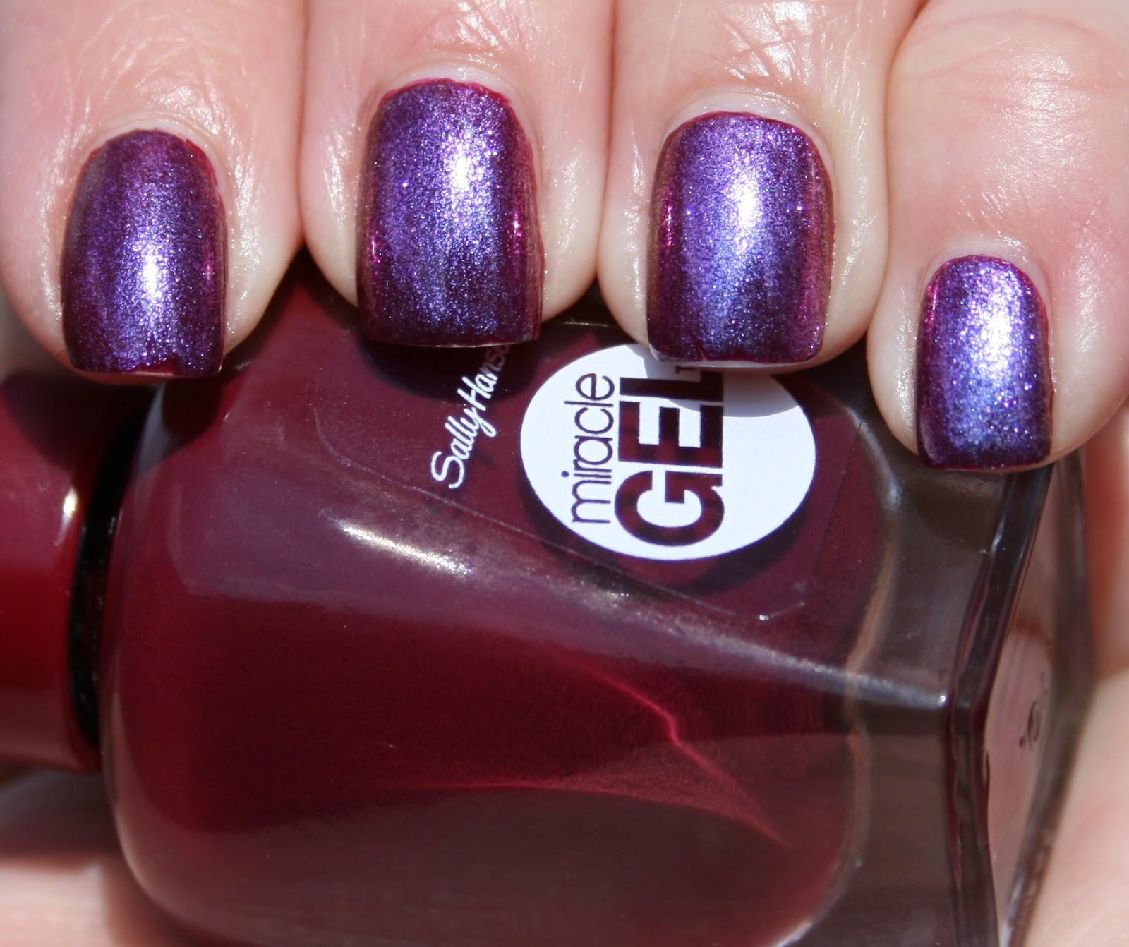 Sasha Says Nails... I\'m a Manicure Momma: New: Sally Hansen Miracle ...