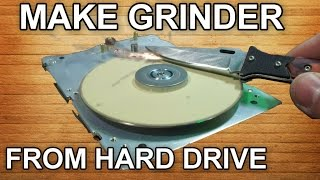 Як зробити точилку з старого жорсткого диску