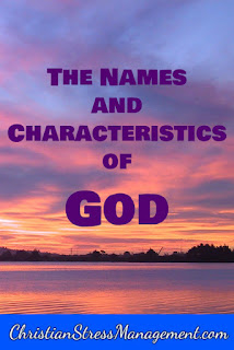 Praying the names and characteristics of God