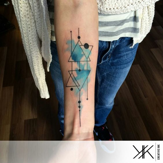 Popular Watercolor Tattoos For Fashionable Women and Men