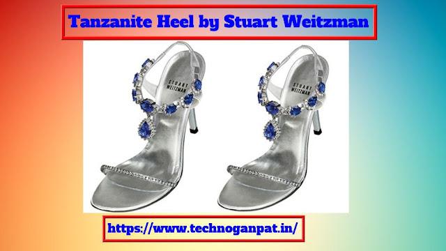 Tanzanite Heel by Stuart Weitzman