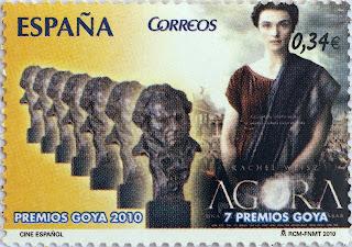 PREMIOS GOYA 2010, ÁGORA