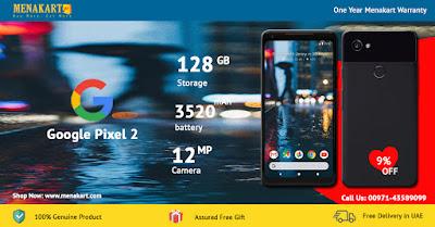 Google Pixel 2 XL - 128GB, 4GB RAM, 4G LTE, Just Black Online