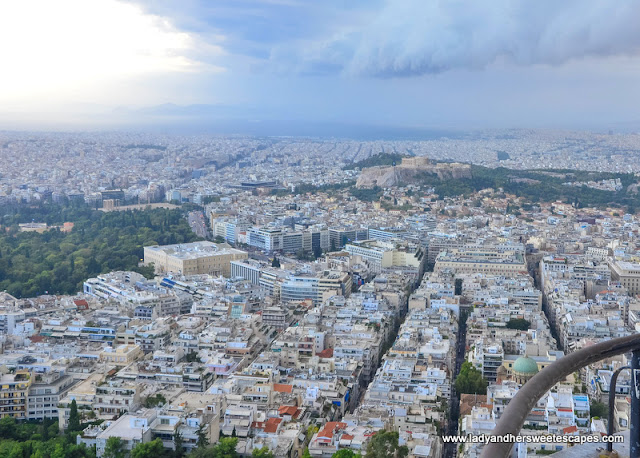 Acropolis from Mount Lycabettus
