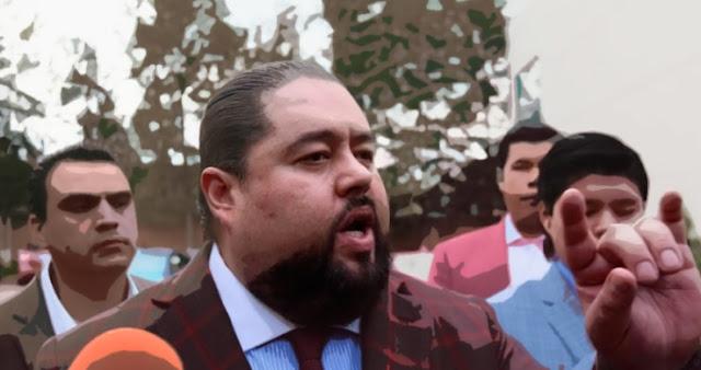 Emir Garduño con abogado, defensa