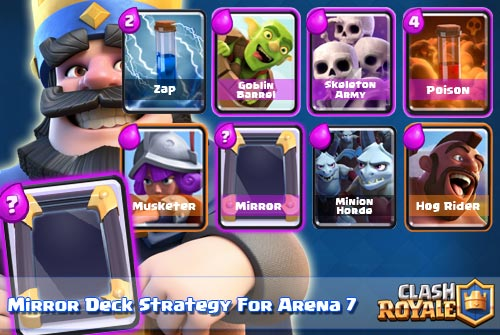 Deck Mirror Arena 7 Clash Royale