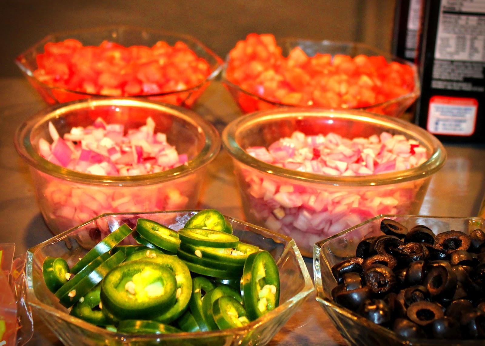 My Crafty Soul: Sunday Football Week 2: Taco/Nacho Bar