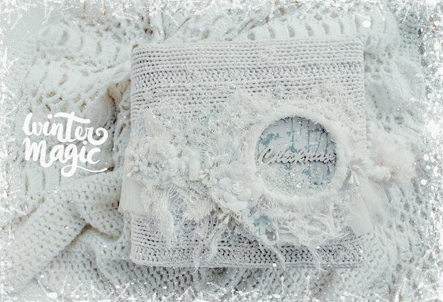 Снежный альбом и завершение проекта Зимние каникулы с Eco Paper!