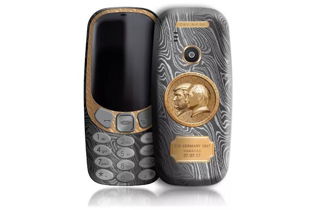 هاتف نوكيا هذا ب2500 $ يخلد ذكرى اجتماع ترامب و بوتين !