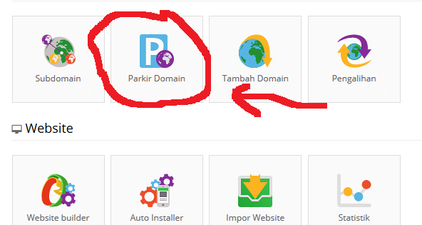 cara parked domain