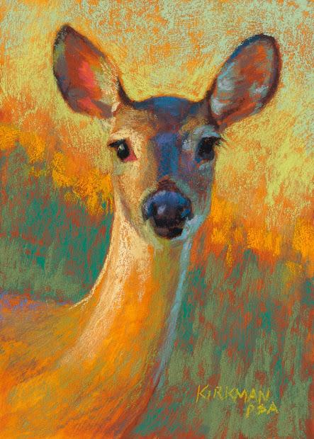 Chalk Pastel Paintings Animals