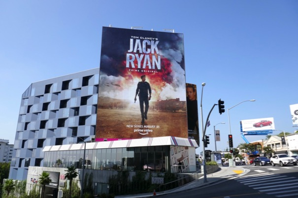 Giant Jack Ryan TV series billboard