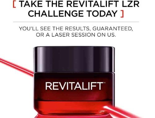 L'Oreal Revitalift LZR Challenge