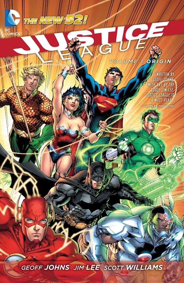 justice league origin