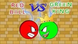 Kırmızı Top Yeşil Kral'a Karşı - Red Ball vs Green King