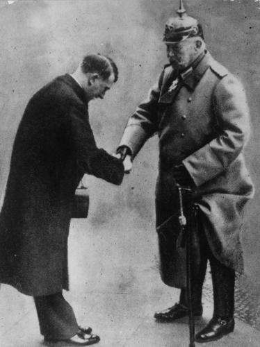 Hitler Hindendburg worldwartwodaily.filminspector.com