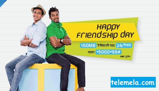 Grameenphone 160MB Internet 16Tk