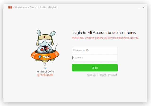 Mi Flash Unlock Tool v1.1.0317.1 Terbaru