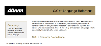 C Language Reference PDF