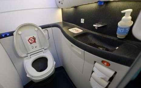 toilet di pesawat banyak menyimpan bakteri berbahaya