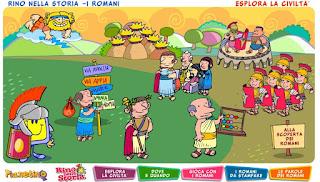 http://www.pianetascuola.it/risorse/media/primaria/adozionali/rino_storia/romani/intro.htm