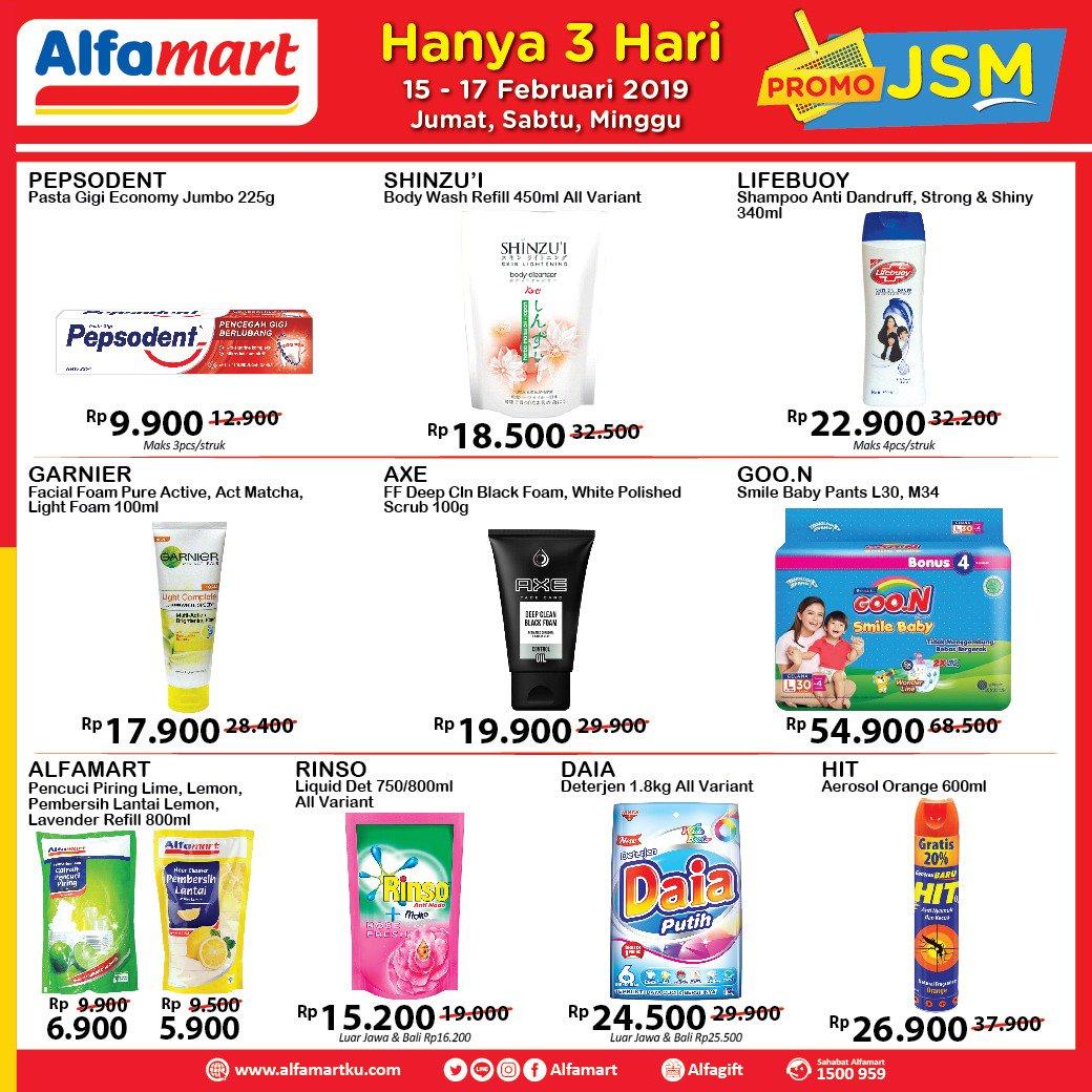 #Alfamart - #Promo #Katalog JSM Periode 15 - 17 Februari 2019
