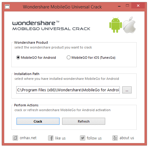 Wondershare MobileGo 7.0 Registration code Download