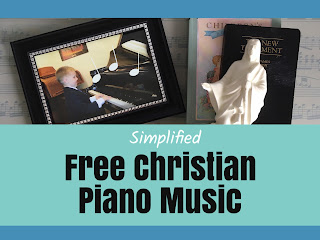 Simplified Free Christian Piano Music from the Church of Jesus Christ of Latter day Saints organized by level of difficulty