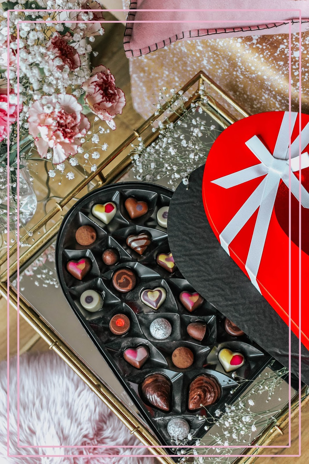 Hotel Chocolat Valentine's Heart Shaped Chocolate Box