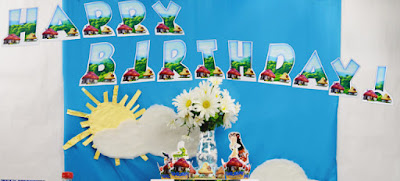 Smurfs party printables