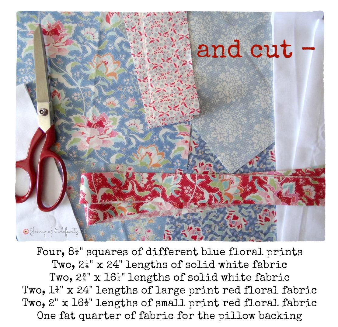 Jenny Of Elefantz Free Pattern Sew A Union Jack Pillow With Me