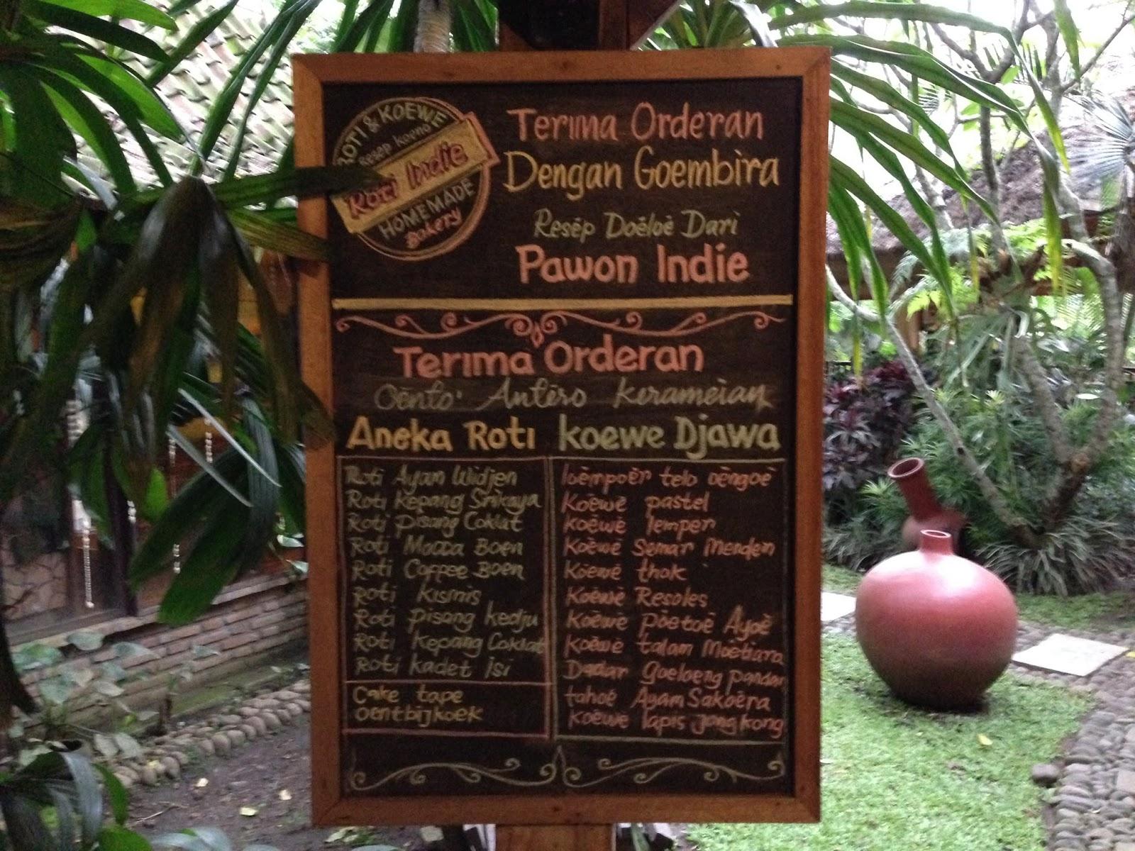 Taman Indie Restoran Bernuansa Pedesaan Di Malang My Kidney Bean