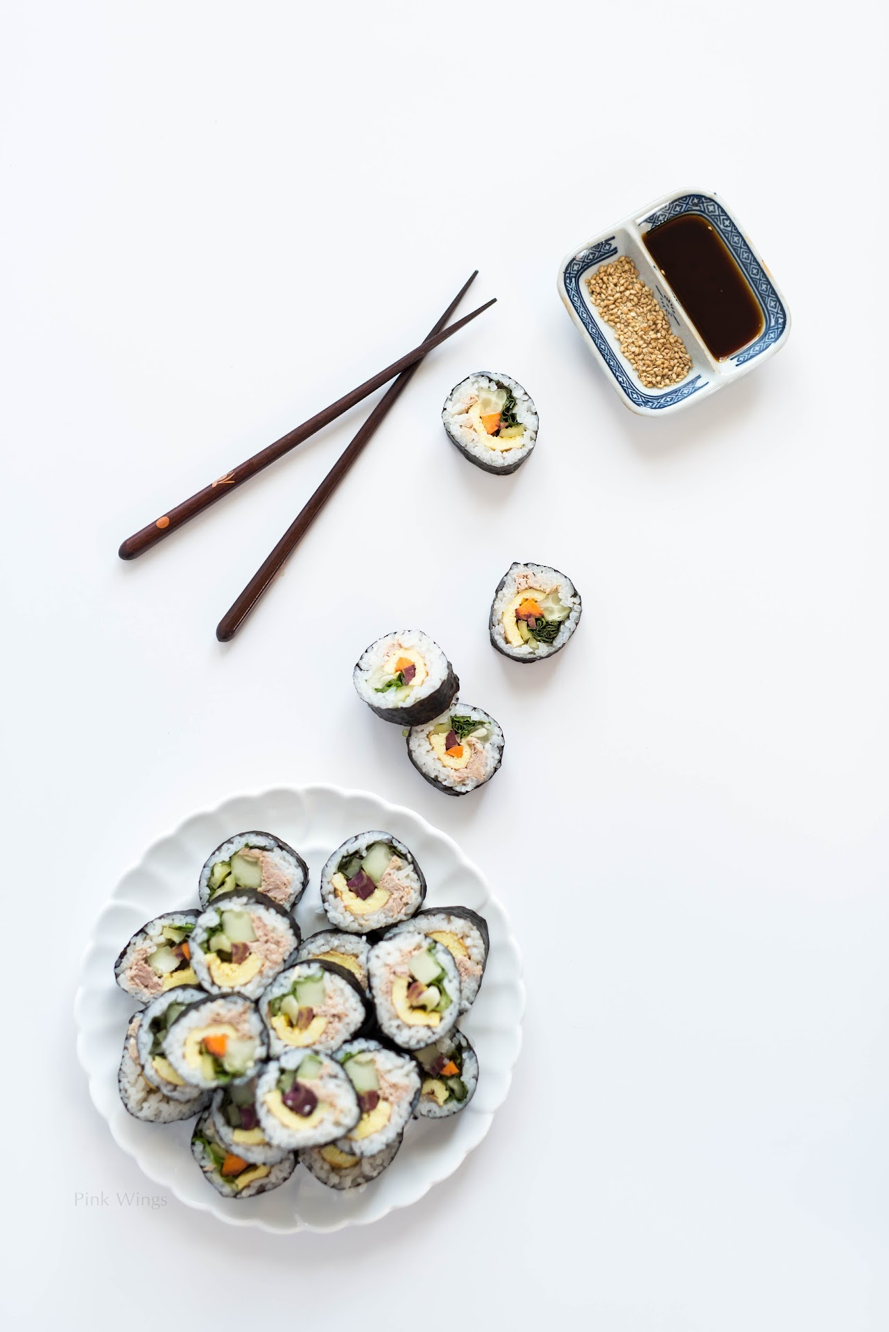 road trip food, healthy, asian snacks, kimbap recipe, ways to use canned tuna fish, farm fresh to you review