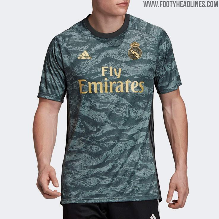 Real Madrid 19-20 Goalkeeper Away Kit Released - Footy Headlines