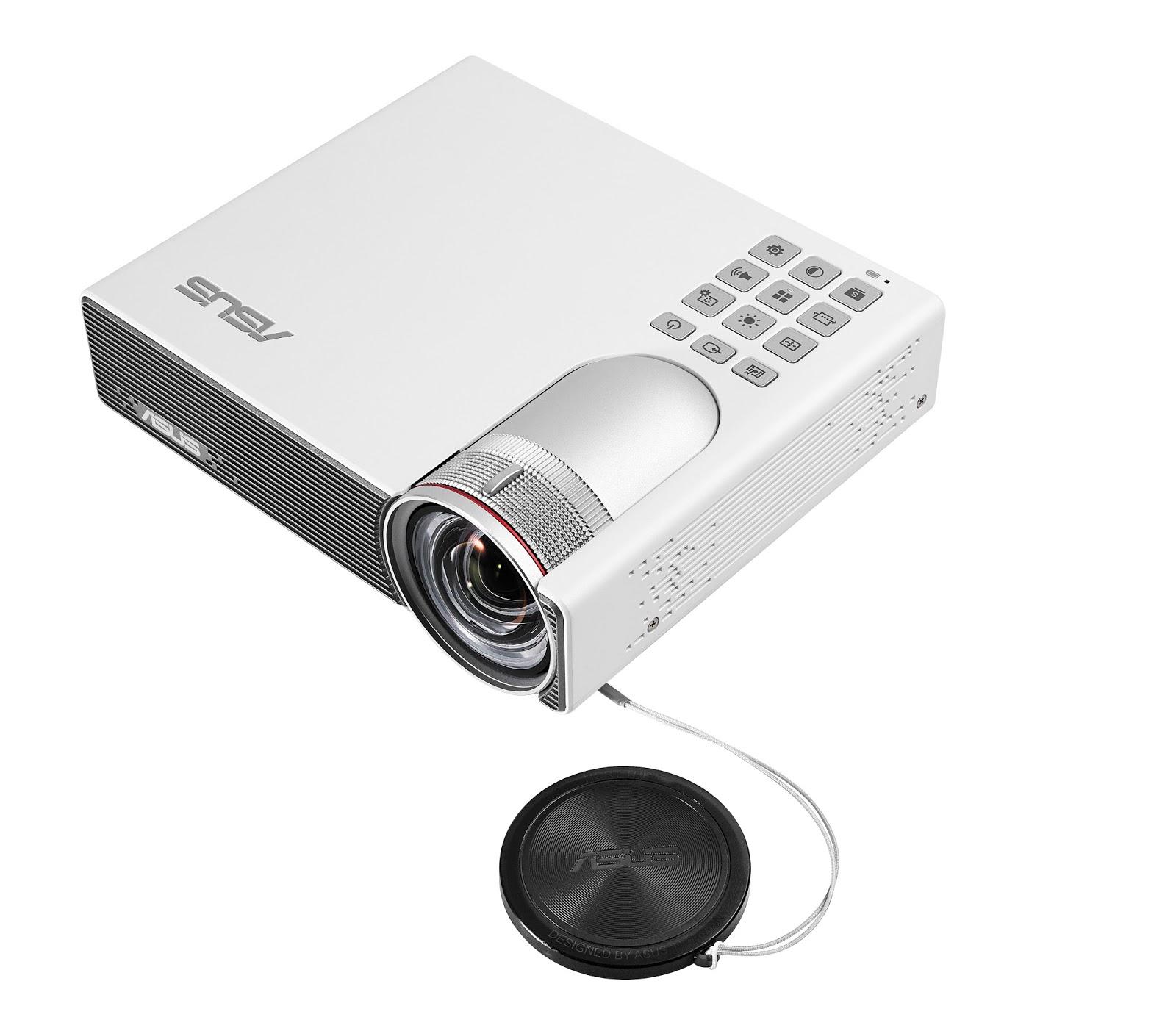 Fantechnology asus presenta il piccolo proiettore led p3b for Proiettore led