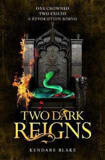 Two Dark Reigns by Kendare Blake cover